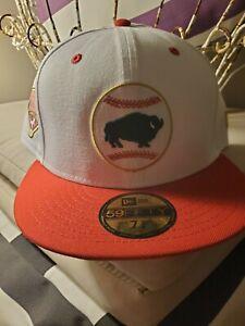 Buffalo Bisons 2018 4th Of July New Era 7 5/8 Hat Cap Milb New