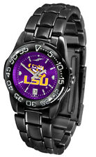 LSU Louisiana State Tigers Women AnoChrome Fantom Sport Watch, Scarf & Hair Clip