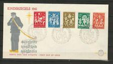 Nederland, Netherlands, FDC E49 zonder adress, 1961, cat €35,-, Frisse enveloppe