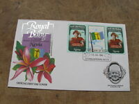 1982 Nevis First Day Cover / FDC - Royal Baby, Prince Philip @ 1 years old v2