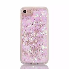 For iPhone 7 & 7+ Plus - HARD PC + SOFT TPU RUBBER Flowing Liquid Waterfall Case
