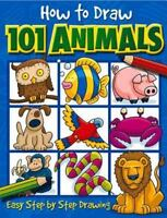 How to Draw 101 Animals, Green, Dan,1842297406, Book, Good