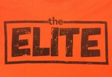 The Elite 5xl We Rule The World Aew Pro Wrestling T Shirt Orange Bullet Club