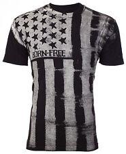 ARCHAIC by AFFLICTION Mens T-Shirt UPRISING American Customs USA FLAG Biker $40