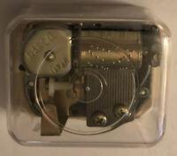 How Great Thou Art Clear See-Thru Moving Mechanics Mechanism Music Box w/Key