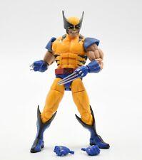 Marvel Legends Apocalypse BAF Series - Tiger Stripe Wolverine Action Figure