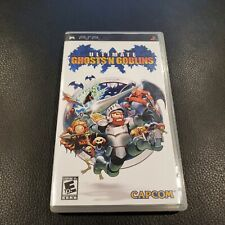 Ultimate Ghosts 'N Goblins (Sony PSP, 2006) CASE AND MANUAL ONLY - no game!