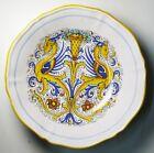 """Italian DERUTA """"Raffaellesco"""" DRAGON Large Ceramic Salad / Serving / Pasta Bowl"""