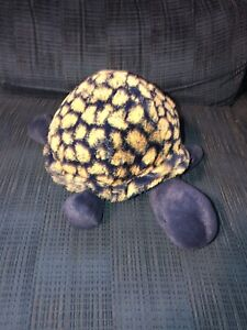 Rare HTF Jellycat London Blue Yellow Tootle Turtle Soft Plush Tortoise 12""