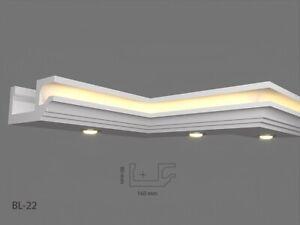 2 meter LED Leiste Stuck profil Indirekte LED Beleuchtung Styroporleisten  BL22