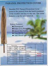Schutzhülle für Sonnenschirm + Reißverschluss,Cover,Schutz,Hülle,Sand,Abdeckung