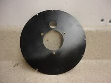 "Plastic Movement / Dial Mounting Plate For 6"" Chelsea Ships Clock Phenolic Case"