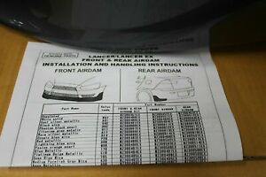 Body Kit suits Mitsubishi Lancer CJ - Paint Code A39 Grey Mica- MZ380482EX