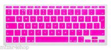 Copritastiera Tastiera protettiva silicone MacBook Air/Pro/Retina 13-15-17 ROSA