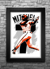 KEVIN MITCHELL art print/poster SAN FRANCISCO GIANTS FREE S&H! JERSEY