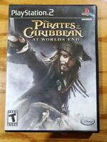 Pirates of the Caribbean: At World's End - PlayStation 2 PS2 Complete VG