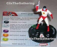 KREE GENERAL #017B Guardians of the Galaxy Marvel HeroClix