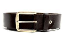 Mustang Original Mens Leather Belt Brown Size 32