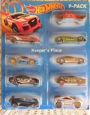 Mattel Hot Wheels 2014 Cars 9 Count Gift Pack Hard To Find New In Package