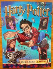 Harry Potter - 2001 Panini Sticker Album - Excellent Condition - Incomplete