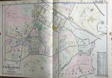 1916 A.H. Mueller, Montgomery County, North Pa, Wyncote, Copy Plat Atlas Map