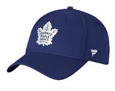 Toronto Maple Leafs Iconic Grid Navy Blue NHL Hockey Flex Fit Hat Cap Fanatics