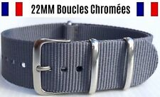 ★ NATO ★ 22MM ★ Bracelet montre Watch Band Strap Nylon Military Army Bond 007