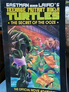 Teenage Mutant Ninja Turtles II Secret of the Ooze Comic Book Movie Adaptation