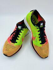 Nike Flyknit Racer Hyper Punch Electric Green Women's Sz7,Men's Sz5.5 526628-603