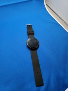 Motorola Moto 360 42mm Stainless Steel Black-NOT WORKING & FOR PARTS ONLY L@@K!!