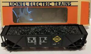 ✅LIONEL ERIE QUAD 4 BAY COAL HOPPER CAR 6-19324! O GAUGE FREIGHT 0/27 TRAIN