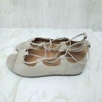 Gentle Souls Size 8.5M Lark Leather Peep Toe Strappy Sandal Womens Kenneth Cole