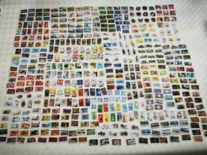 FRANCE  486 timbres adhésifs 2012 à 2020 Différents Oblitérés