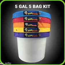 BUBBLE ICE BAGS 5GAL- 5BAG KIT ,GROW LIGHTS,DIGITAL BALLAST
