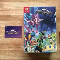 Freedom Planet Deluxe Collector's Edition Nintendo Switch Limited Run SOLD OUT