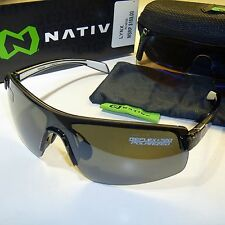 Native Lynx Polarized Sunglasses-Smoke/N3 Silver Reflex & SportFlex Lenses