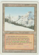 Revised Edition  MTG  Taiga   Magic Dual Land