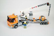 LEGO® CITY 60233 LKW mit Krananhänger Transporter Abschlepper und Fahrer