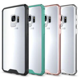 Samsung Galaxy S8 / S9 Protective Clear Back [Air Cushion] Slim Shockproof Case