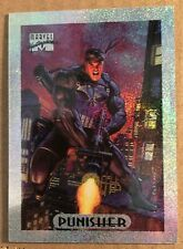 Punisher 1994 Marvel Masterpiece Holofoil Silver #6 INSERT TRADING Card Skybox