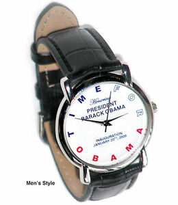 FEMALE Authentic 2008 Commemorative Obama Inauguration Watch- by Micky Orloff