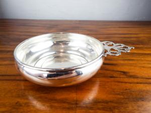 Vintage American Sterling Silver Porringer Bowl Baby Feeding Christening Gift