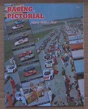 MAGAZINE ~ RACING PICTORIAL ~ 1968 SPRING ~ NASCAR USAC IMCA DAYTONA SEBRING