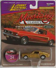 Johnny Lightning - ´68 / 1968 Ford Mustang GT goldmet. Neu/OVP