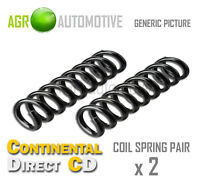 2 x CONTINENTAL DIRECT FRONT COIL SPRINGS SPRING PAIR OE QUALITY REPLACE GS7033F