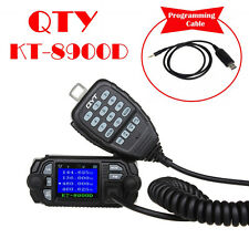 QYT KT-8900D Quad-Standy Car Mobile Radio w/ Microphone+USB Programming Cable