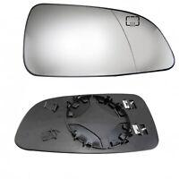 Lado Derecho Espejo Lateral Calentado Cristal para Opel Vauxhall Astra H