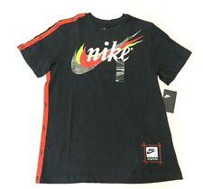 NWT NIKE Swoosh Multi-Color Short Sleeve T-Shirt Men's Size Large Off-white