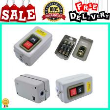 Home Switch On Off Start Stop Push Button Single Phase Motor Electric 220v 380v