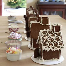 3D House Door DIY Silicone Fondant Mould Cake Decor Chocolate Cutter Mould